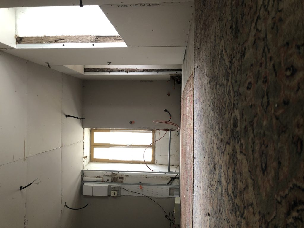 rénovation mur plâtre